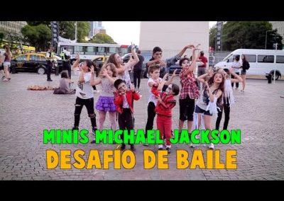 MINIS MICHAEL JACKSON – DESAFÍO DE BAILE