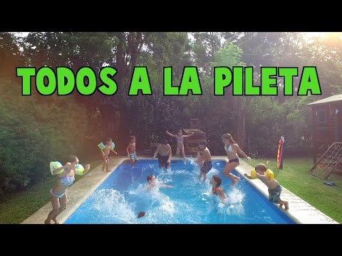TODOS A LA PILETA