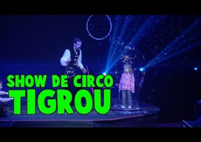 MINI FAN DEL CIRCO TIGROU