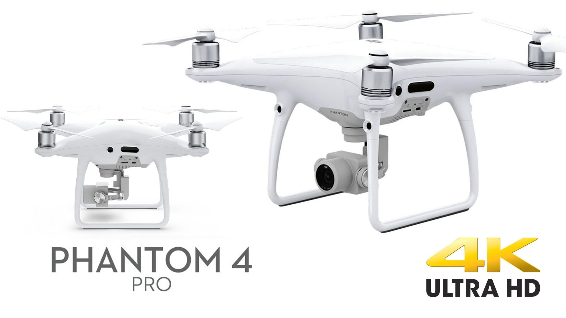 DRON DJI PHANTOM 4 PRO (pagina web)